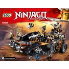 LEGO Dieselnaut Set 70654 Instructions