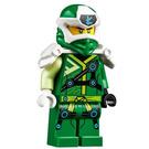LEGO Digi Lloyd Minifigure with (Right) Lopsided Grin