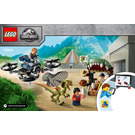 LEGO Dilophosaurus on the Loose Set 75934 Instructions