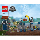 LEGO Dilophosaurus Outpost Attack Set 75931 Instructions