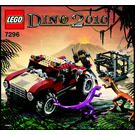 LEGO Dino 4WD Trapper Set 7296 Instructions