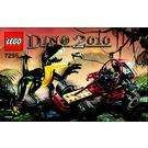 LEGO Dino Buggy Chaser Set 7295 Instructions