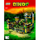LEGO Dino Defense HQ Set 5887 Instructions
