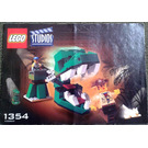 LEGO Dino Head Attack Set 1354 Instructions