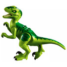 LEGO Dino Raptor with Green and Dark Green Back