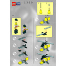 LEGO Director's Copter Set 1360 Instructions