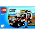 LEGO Dirt Bike Transporter Set 4433 Instructions