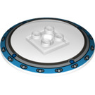 LEGO Dish 6 x 6 Inverted (Radar) with Decoration Solid Studs (21637)