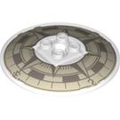 LEGO Dish 6 x 6 Inversé avec Compass Décoration sur Concave Side Goujons solides (39022 / 78193)