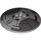 LEGO Dish 8 x 8 Inverted with Decoration (23010)