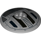 LEGO Dish with TIE Fighter Hatch Pattern (3961 / 19854)