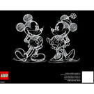 LEGO Disney's Mickey Mouse Set 31202 Instructions