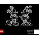 LEGO Disney's Mickey Mouse Set 31202 Instructions