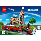 LEGO Disney Train and Station Set 71044 Instructions