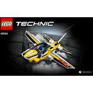 LEGO Display Team Jet Set 42044 Instructions