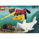LEGO Diver and Shark Set 2871
