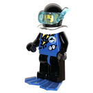 LEGO Diver with Dolphin Logo Minifigure