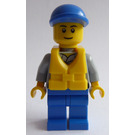LEGO Diving Boat Pilot Minifigure
