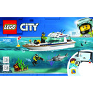 LEGO Diving Yacht Set 60221 Instructions