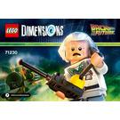 LEGO Doc Brown Set 71230 Instructions