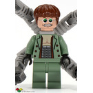 LEGO Doc Ock Minifigure (Clenched Teeth Smile)