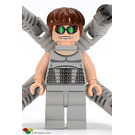 LEGO Doc Ock Minifigure (Medium Stone Gray Torso and Legs)