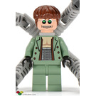 LEGO Doc Ock Minifigure (Thin Toothy Smile)