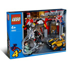 LEGO Doc Ock's Cafe Attack Set 4860 Packaging