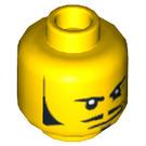 LEGO Doctor Rodney Rathbone Head (Recessed Solid Stud) (3626 / 10746)