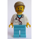 LEGO Doctor with Combed hair Minifigure