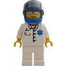 LEGO Doctor with helmet Minifigure