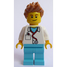 LEGO Doctor with spiked hair Minifigure