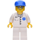 LEGO Doctor with Sunglasses and Blue Cap Minifigure