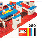 LEGO Dolls Living Room Set 260-3 Instructions
