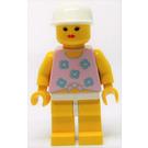 LEGO Dolphin Point Female, White Cap Minifigure