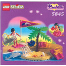 LEGO Dolphin Show Set 5845 Instructions