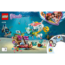 LEGO Dolphins Rescue Mission Set 41378 Instructions