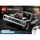 LEGO Dom's Dodge Charger Set 42111 Instructions