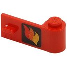 LEGO Door 1 x 3 x 1 Right with Flame Decoration (3821)