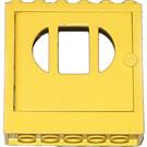 LEGO Door Frame 2 x 6 x 5 with Yellow Door