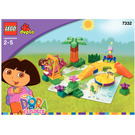 LEGO Dora and Boots at Play Park Set 7332 Instructions