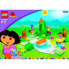 LEGO Dora and Diego's Animal Adventure Set 7333 Instructions