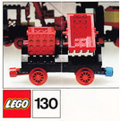 LEGO Double Tipper Wagon Set 130 Instructions