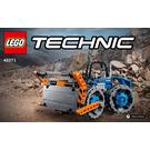 LEGO Dozer Compactor Set 42071 Instructions