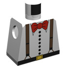 LEGO Dr. Charles Lightning Torso without Arms (973)