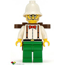 LEGO Dr. Charles Lightning with Backpack Minifigure