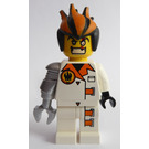 LEGO Dr. Inferno with Metallic Silver Claw Minifigure