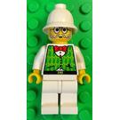 LEGO Dr. Kilroy- Green Vest, White Legs Minifigure