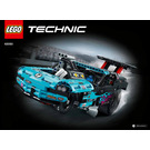 LEGO Drag Racer Set 42050 Instructions