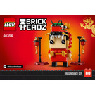 LEGO Dragon Dance Guy Set 40354 Instructions